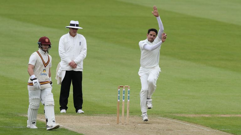 Mohammad Abbas helped Leicestershire to victory