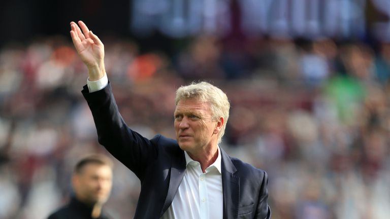Moyes guided West Ham to a 13th-place finish
