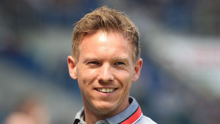 At 30-years-old Julian Nagelsmann is the youngest manager in the Bundesliga
