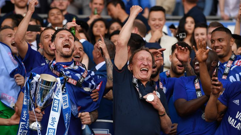 Neil Warnock's Cardiff will be heading to Cornwall