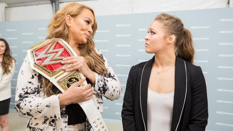 Ronda Rousey Accepts Nia Jax's Money in the Bank Challenge