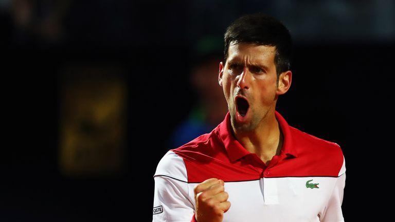 Novak Djokovic's confidence is growing in Rome as he prepares to face Kei Nishikori in the last eight