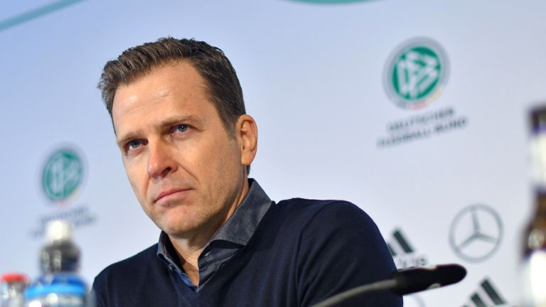 Oliver Bierhoff is unhappy with the German media