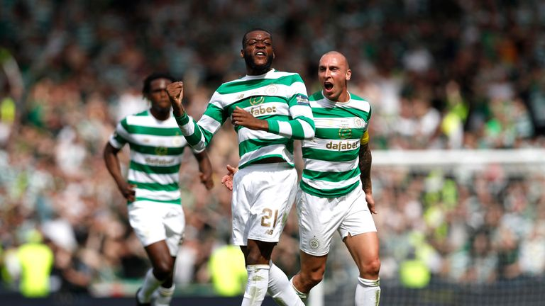 Olivier Ntcham scored the second goal for Celtic