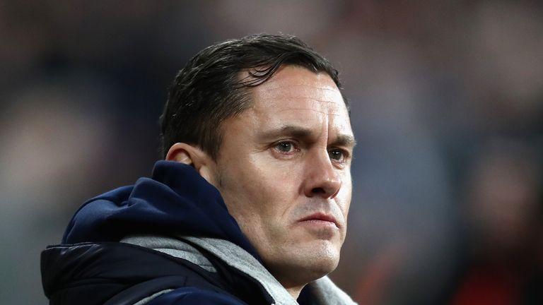 Paul Hurst's Shrewsbury were losing play-off finalists at Wembley on Sunday