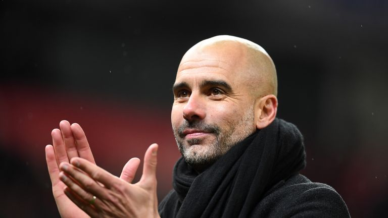 Guardiola has called on his players to maintain the levels they reached this season
