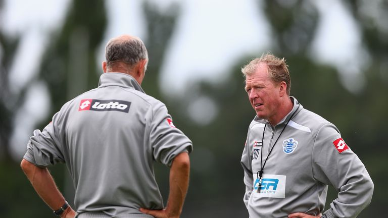 McClaren has previously worked at QPR, spending time there in 2013 as a coach under Harry Redknapp before leaving for Derby