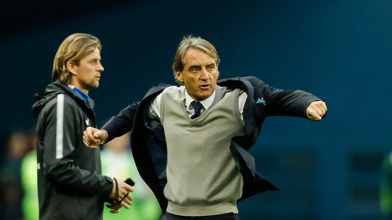 Mancini willing to be next Italy manager but no deal yet - FIGC