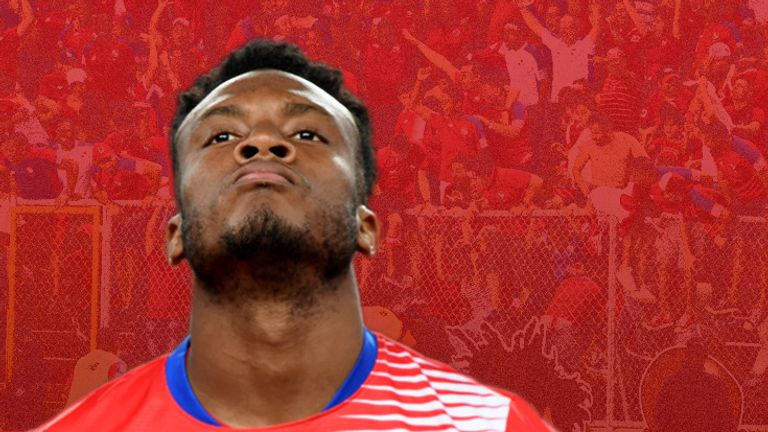 Rodney Wallace is looking forward to his first World Cup with Costa Rica