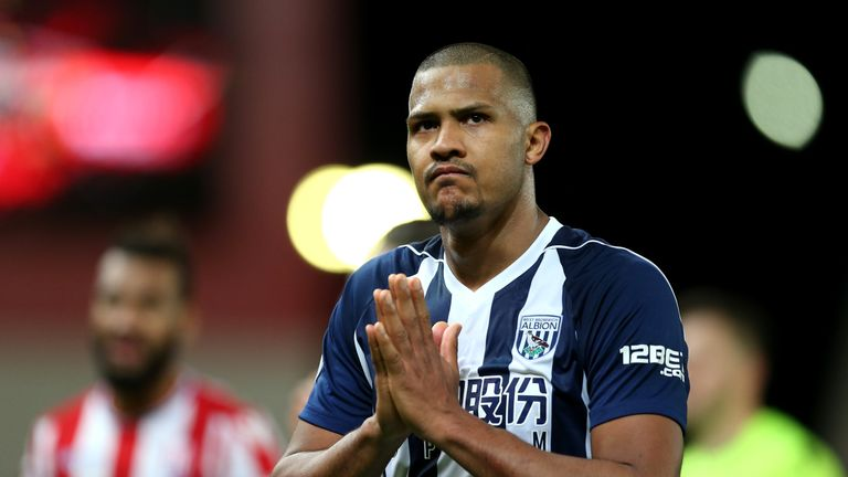 Salomon Rondon could be in the squad for West Brom