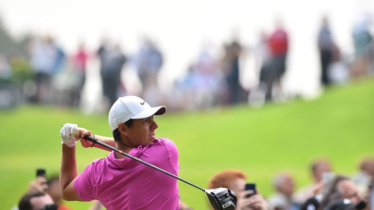 McIlroy's final-round 70 left him two behind Francesco Molinari