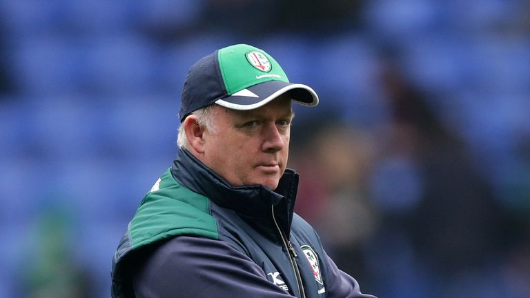 Declan Kidney is London Irish's new director of rugby