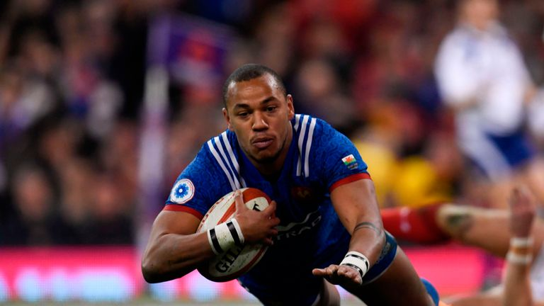 Gael Fickou has won 35 caps for France, scoring seven tries