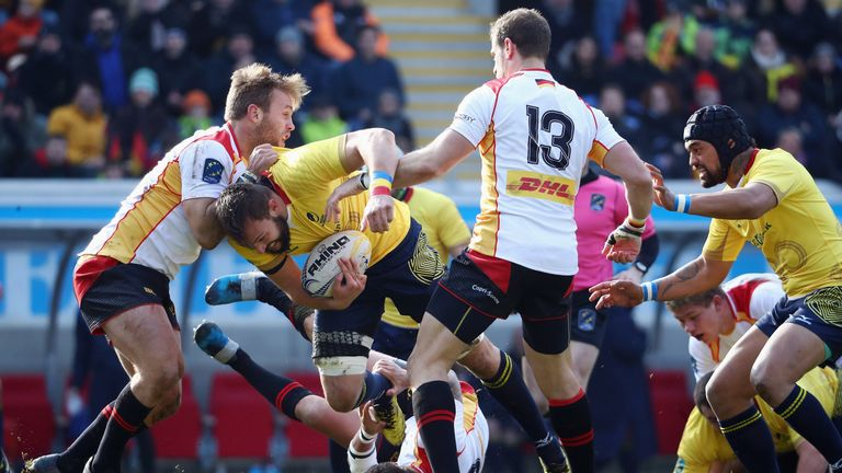 Romania were docked 30 points for fielding ineligible players, meaning Russia and Germany finished first and second respectively in the Rugby Europe Championship