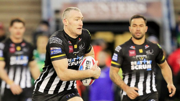 Chris Houston wants to finish his career on a positive note with Widnes