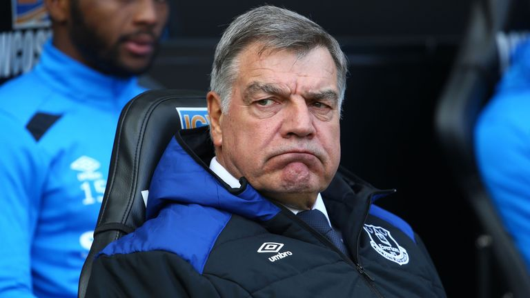 Sam Allardyce looks to be set for another year at Everton