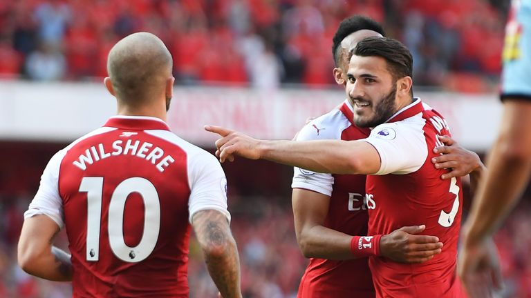 Arsenal have been in red-hot form at home this season