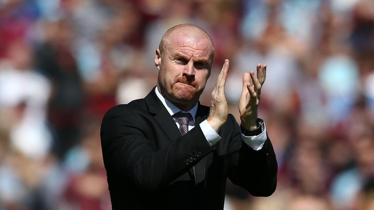 Sean Dyche guided the Premier League side into Europe