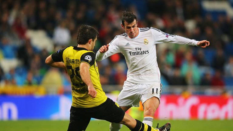 The Dortmund centre-back thwarts Gareth Bale during a Champions League clash