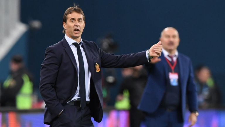 Lopetegui succeeded Vicente del Bosque as Spain coach in 2016