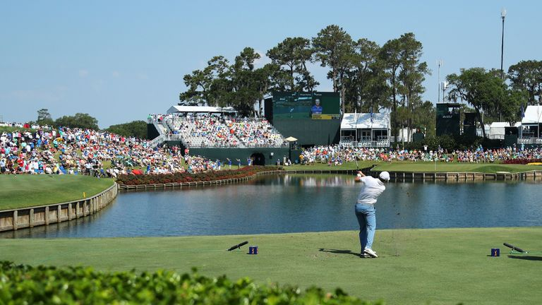 Taking on the 17th is a daunting prospect, and the penultimate hole was the toughest on the course in round one