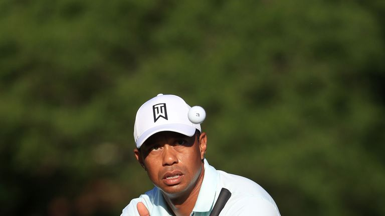 Woods missed the cut in his last Wells Fargo Championship appearance in 2012