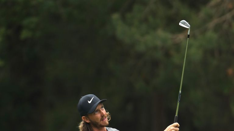 Poulter plays alongside Graeme McDowell and Ian Poulter for the first two rounds