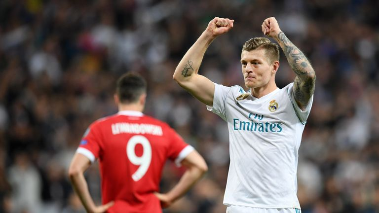 Toni Kroos has also been linked to a Man Utd move