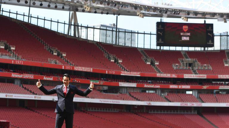 Unai Emery kicks off his Emirates tenure at home to Man City