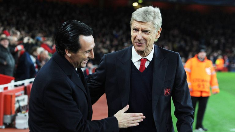 Unai Emery will replace Arsene Wenger at the Emirates