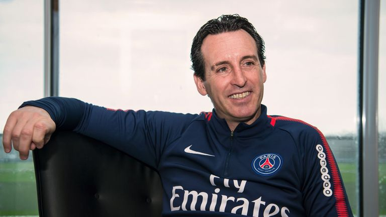 Unai Emery previously managed PSG after spells at Valencia, Sevilla and Spartak Moscow