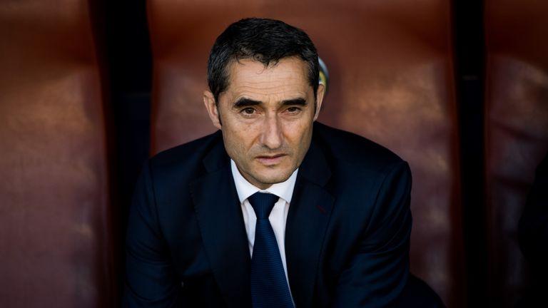 Ernesto Valverde was criticised for his selection against the La Liga minnows