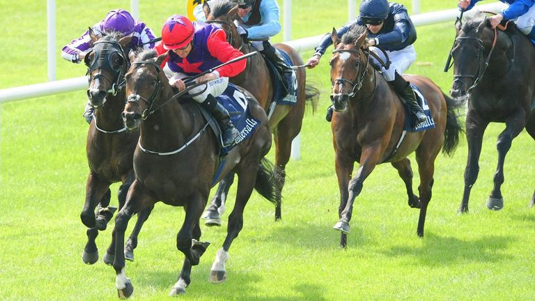 Irish 2,000 Guineas: Romanised surprise victor at the Curragh