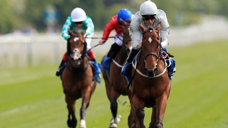 Threading wins in good style under William Buick