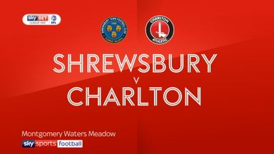 Shrewsbury 1-0 Charlton