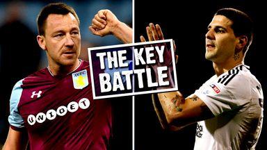fifa live scores -                               Key Battle: Terry v Mitrovic