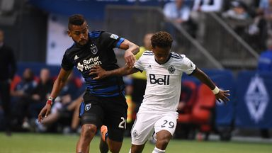 fifa live scores - MLS round-up: Vancouver Whitecaps and San Jose Earthquakes share spoils