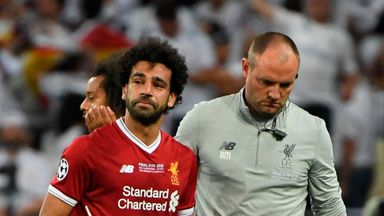 fifa live scores - Mohamed Salah indicates he has not forgiven Sergio Ramos following Champions League final clash