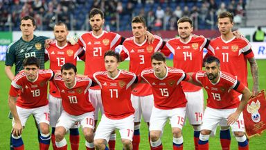 The Russia squad has been one of the most tested teams ahead of this summer's World Cup