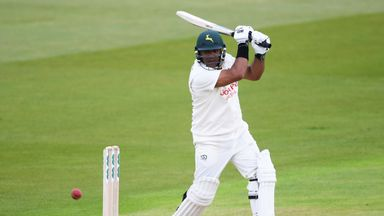 Samit Patel during the Specsavers County Championship Division One match between Nottinghamshire and Hampshire at Trent Bridge on May 4, 2018 in Nottingham, England.