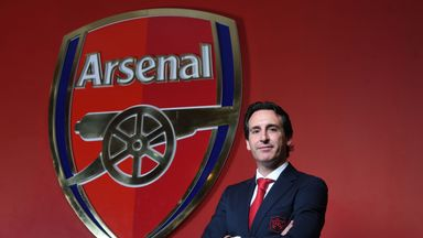 Unai Emery has been appointed Arsenal head coach