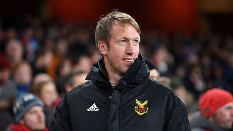 during UEFA Europa League Round of 32 match between Arsenal and Ostersunds FK at the Emirates Stadium on February 22, 2018 in London, United Kingdom.