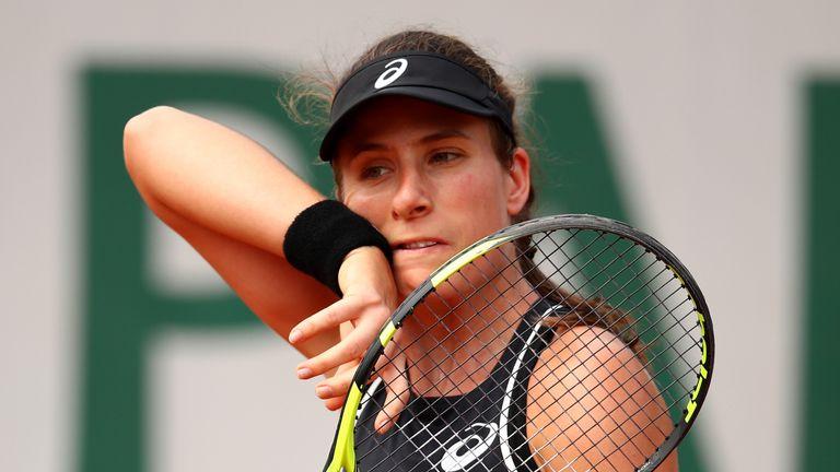Johanna Konta - French Open 2018