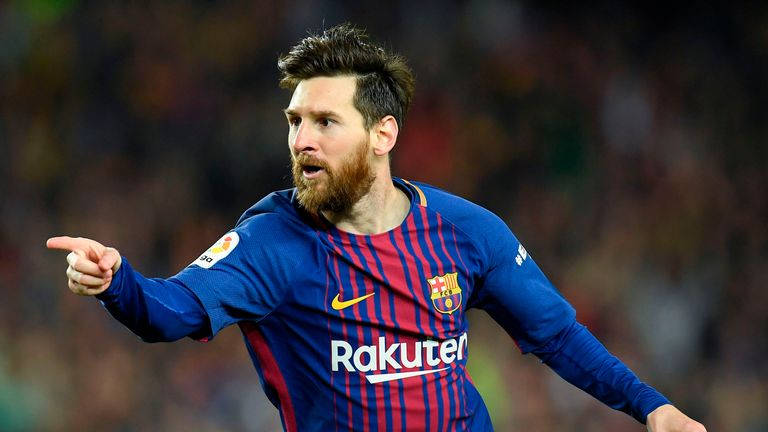 Lionel Messi becomes the first player to win the European Golden Shoe five times