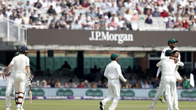 Pakistan win the first Test against England at Lord's