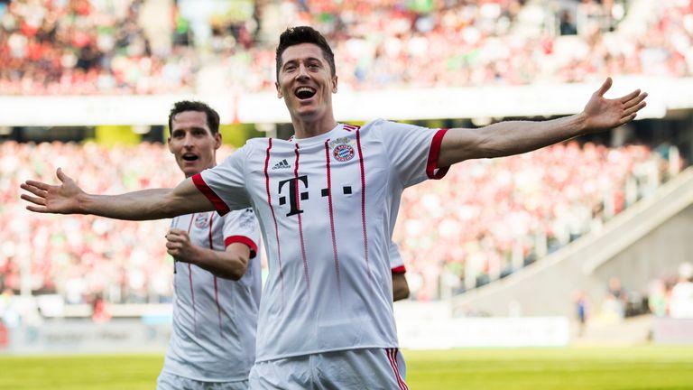 Lewandowski has scored 106 goals for Bayern Munich in 125 league games
