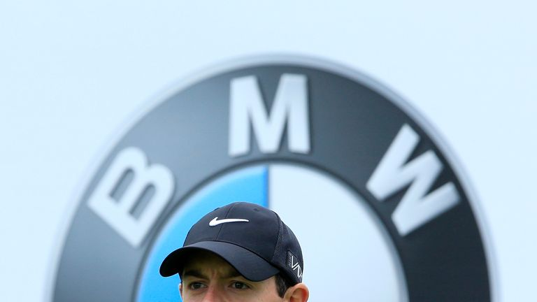 during day 2 of the BMW PGA Championship at Wentworth on May 22, 2015 in Virginia Water, England.