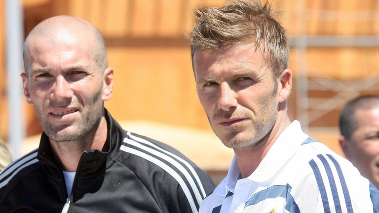Zidane and Beckham