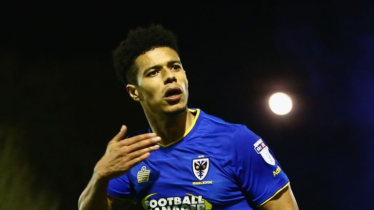 Lyle Taylor is a transfer target for several of AFC Wimbledon's League One rivals