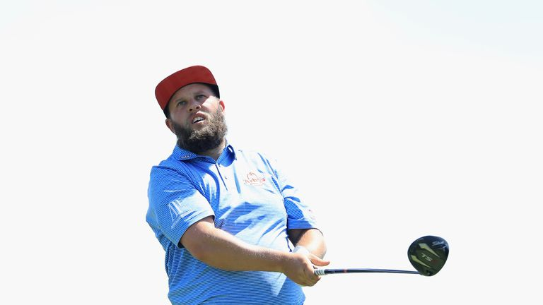Andrew Johnston will start on the 10th hole on Friday